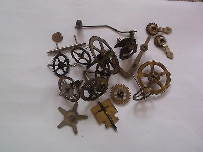 Cogs Etc  From An Old Smiths  Mantle Clock