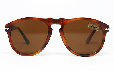 ca9c69be5a7ee Nos Vintage Sunglasses Persol 649 5 96 Ratti Tortoise Brown Classic 714  Mcqueen