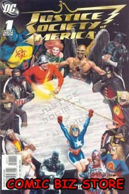 Justice Society Of America #1 (2007) 1St Printing Bagged & Boarded Dc