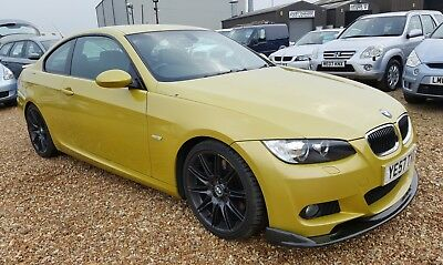 2007 '57' Bmw 335D M Sport Coupe 3.0 Diesel Auto Phoenix Yellow 2 Owners