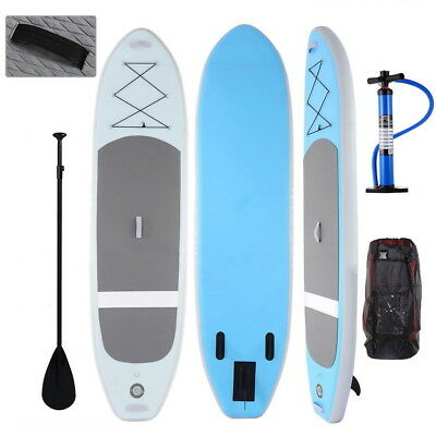 5 Types Inflatable Stand Up Paddle Board iSUP w/ Adjustable Paddle Backpack Pump