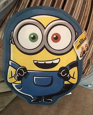Minions - Cushion - Character Minion - New With Tags - Despicable Me