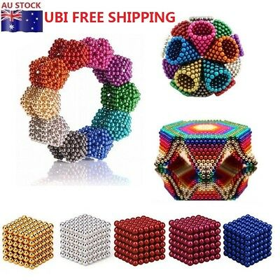 216PCS 3/5mm Magic Magnet Magnetic DIY Balls Sphere Neodymium Cube Luxury Beads