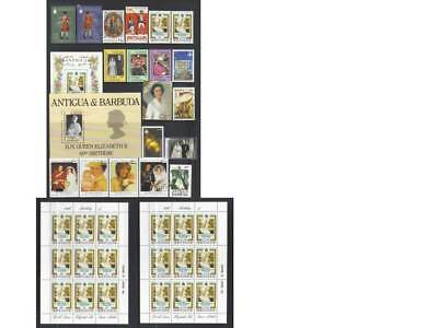 (620) Antigua Mnh Qeii Collection