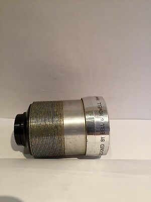 BELL & HOWELL SUPER D PROVAL 2 inch F / 1.4 projection lens  16mm made in japan