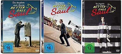9 DVDs * BETTER CALL SAUL - SEASON / STAFFEL 1+2+3 IM SET # NEU OVP <