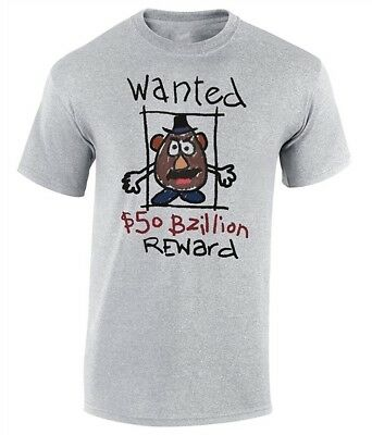 Mr Potato Head Wanted Toy Story T-Shirt