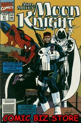 Marc Spector: Moon Knight #21 (1990) 1St Printing Bagged & Boarded Marvel