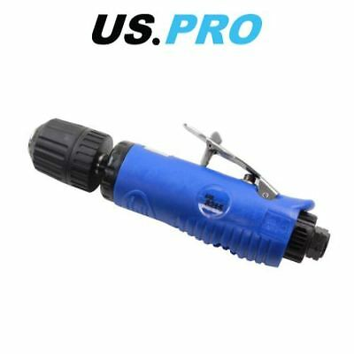 "US PRO 3/8"" DR Non-Reversible Keyless Straight Air Drill 8215"