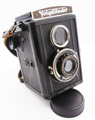Voigtlander Brillant TLR Camera with Voigtar 7,5cm f4.5 Lens  Free UK P&P!