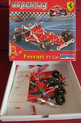 Supermag - Magnetic - Genius  - Ferrari F 1 Car