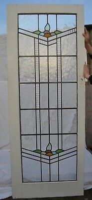 Internal leaded light stained glass door. R724. NATIONWIDE DELIVERY!