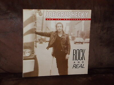 Vinyl-LP: JOE GRUSHECKY And The Houserockers - Rock And Real (1989) RAR!
