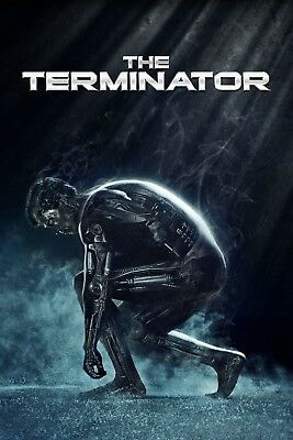"""The Terminator""...Arnold Schwarzenegger. Classic Movie Poster 2 Various Sizes"