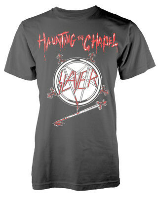 Slayer 'Haunting The Chapel' T-Shirt - NEW & OFFICIAL!