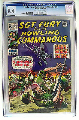 Sgt. Fury and His Howling Commandos # 71 CGC 9.4