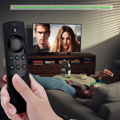 Fire Stick ALEXA Voice Remote Newest 2ND Generation 2017 Stick Case Cover, Black