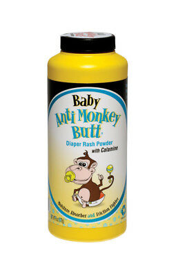 Anti Monkey Butt Baby Powder Pain Itch Calamine Friction 6oz Absorb Moisture