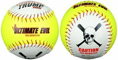 "Trump Evil Ultimate Evil 12"" 53/600 Softball dozen"