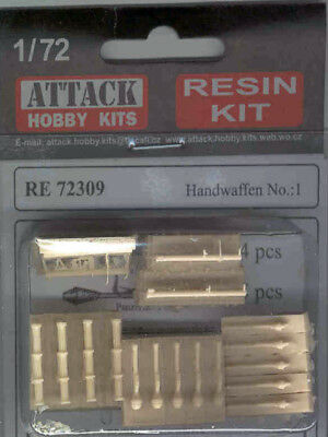 1/72 german Handwaffen No.:1 - Attack-hobby-kits RE 72309 Resin Kit..top! OVP...