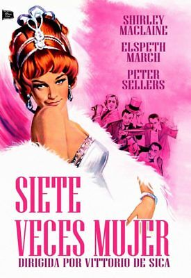 Siete Veces Mujer - Woman Times Seven