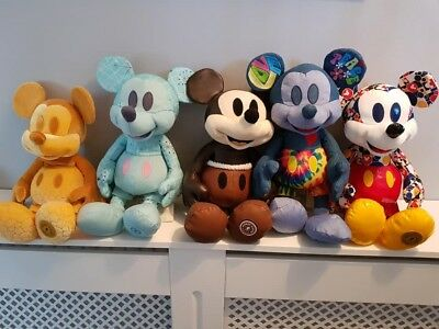 MICKEY MOUSE MEMORIES plush special editions, Disney, FEB - JUNE