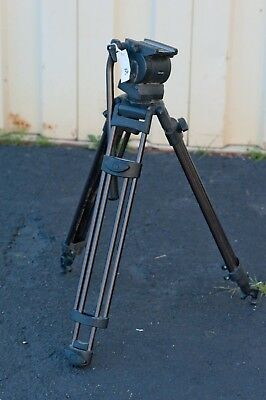 Used Libec RT30B Tripod with RH25 Head #3 FOR PARTS N1757