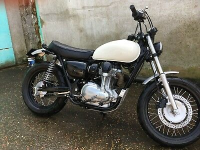 2 Of 10 Custom Kawasaki W800 Street Tracker 2011 Cafe Racer Scrambler