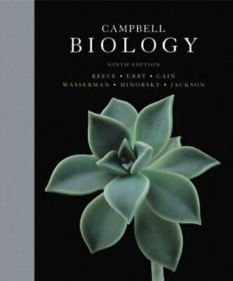 Campbell Biology ( Hardcover 9th Ed. ) by Jane Reece   72018