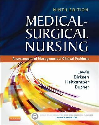 Medical-Surgical Nursing  9TH EDITION  By Lewis ( HARDCOVER ) 72018