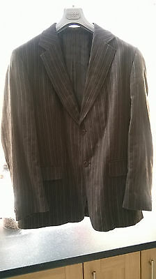 Very stylish Carnaby Classics men's wool and cotton striped jacket
