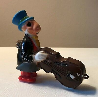 VINTAGE DISNEY JIMINY CRICKET Plastic Ramp Walker