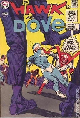 Hawk and Dove (1st Series) #4 1969 VG 4.0 Stock Image Low Grade