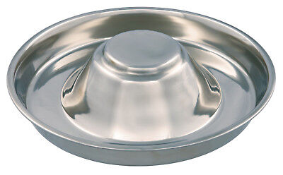Puppy Feeding Weaning Bowl Saucer Medium 1.4L or XL 4L Whelping Stainless Steel