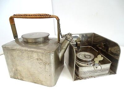 Wwi Era Travel Picnic / Trench Kettle Stove By G.w.s & S William Soutter & Scott