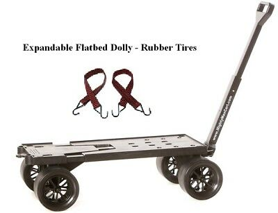 Moving and Warehouse Cart, All-Purpose, Furniture Dolly, RV Cart, Flatbed Cart