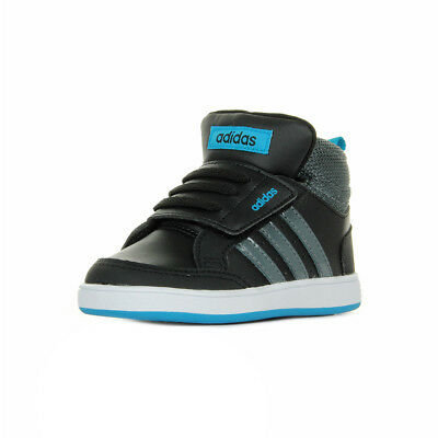 Chaussures Baskets adidas Neo bébé Hoops CMF MID Inf taille Noir Noire