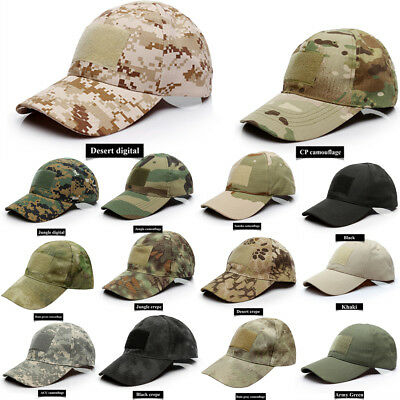 a4969b27d6b Tactical Baseball Style Military Hunting Hiking Outdoor Mesh Army Cap Como  Hat