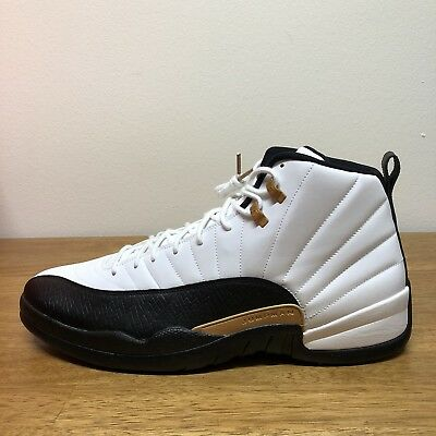 separation shoes 86ab3 7eaad Nike Air Jordan 12 Retro CNY Chinese New Year White Black Size 18  881427-
