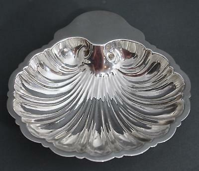 Vintage REVERE Sterling Silver Footed Clam Shell Seashell Dish Bowl 4.26 Troy Oz