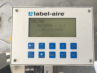 "Label Aire 3114-1500 4"" Tamp Blow 0118800 - 1.3"
