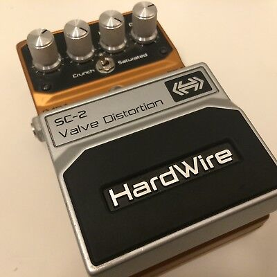 Digitech HardWire SC-2 Valve Distortion Overdrive Pedal (USA made version)