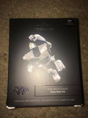 Sdcc 2018 Hallmark Ready Player One The Iron Giant Keepsake Ornament In Hand