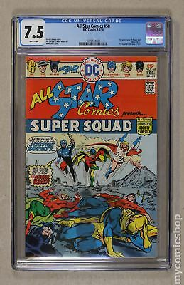 All Star Comics #58 1976 CGC 7.5 0305774002