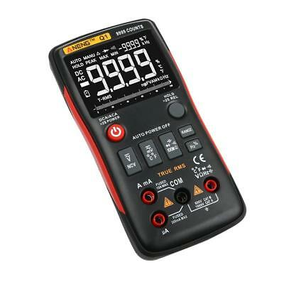ANENG Q1 True-RMS Digital Multimeter Button 9999 Counts with Analog Bar Graph BC