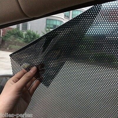 Hot 2x Car Auto Accessories Curtain Side Window Stickers Sun Shade UV Protection