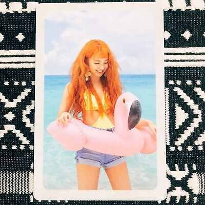 [TWICE CHAEYOUNG] Photocard Official New Summer Nights B Version Preorder 채영