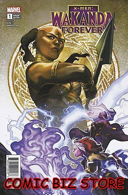 Wakanda Forever X-Men #1 (2018) 1St Printing Connecting Variant Cover ($4.99)