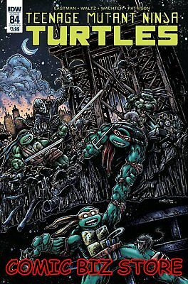 Teenage Mutant Ninja Turtles #84 (2018) Eastman Variant Cover B Tmnt Idw Comics