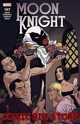 Moon Knight #197 (2018) 1St Printing Bagged & Boarded Marvel